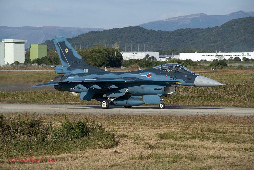 Mitsubishi F2 138515 6th Kokutai 251116 Fighter jets