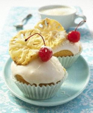 Das Rezept für Piña-Colada-Muffins und weitere kostenlose Rezepte auf LECKER.de