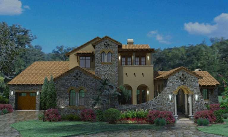 Mediterranean House Plan 9401