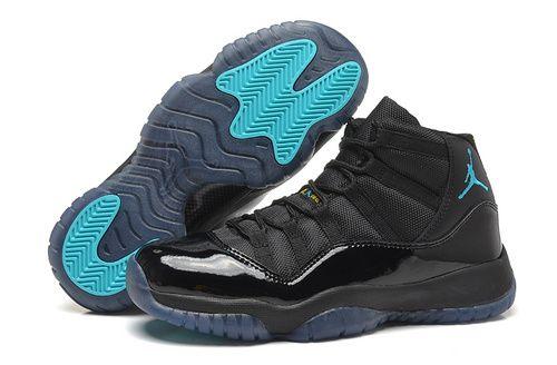 Women s Air Jordan Retro 11 AJ11 Jordan 11 Basketball Shoes High Shoes AAA  Gamma Blue e4c02a900b
