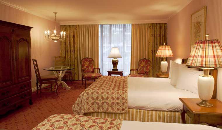 Deluxe Garden Two Queens The Little America Hotel Salt Lake City Lake City Salt Lake City Hotel