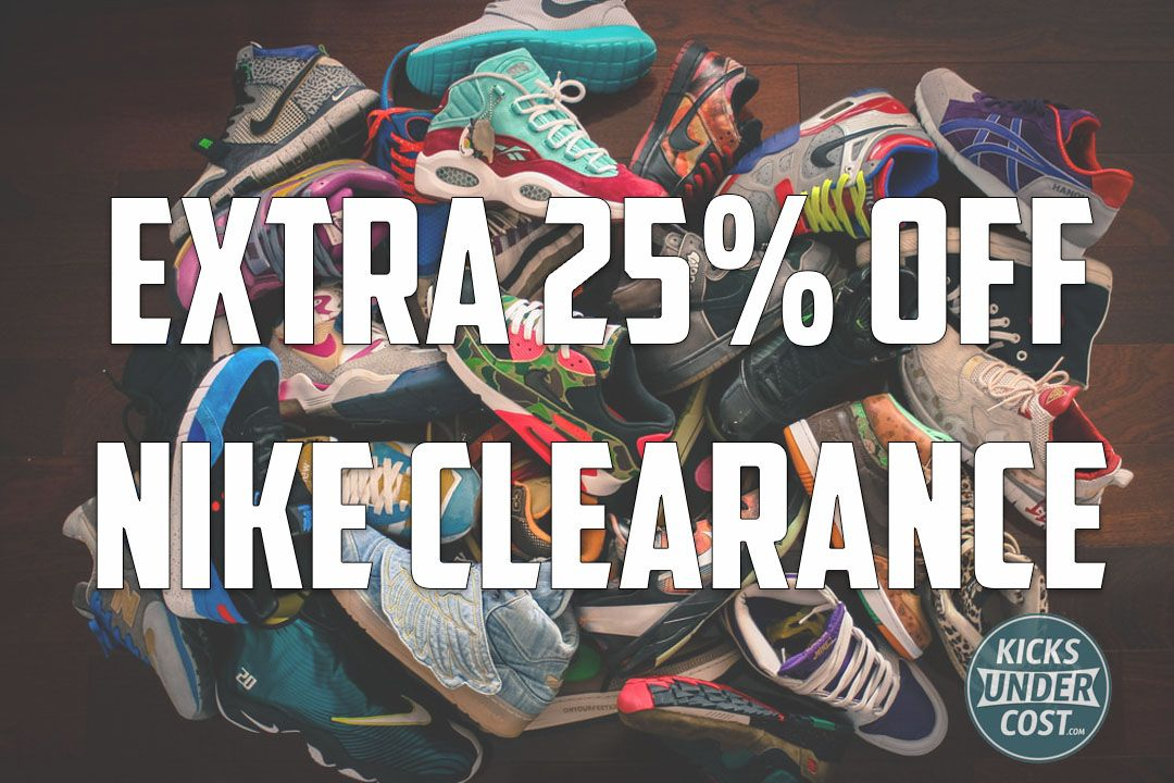 Dureza Transparentemente Atticus  Take An Extra 25% Off All Nike Sale Items Happening Now! | Nike sale, Nike  clearance, Nike