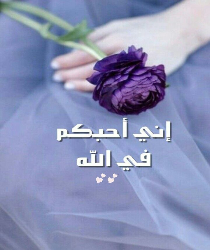احبكم في الله T Shirts For Women Women Fashion
