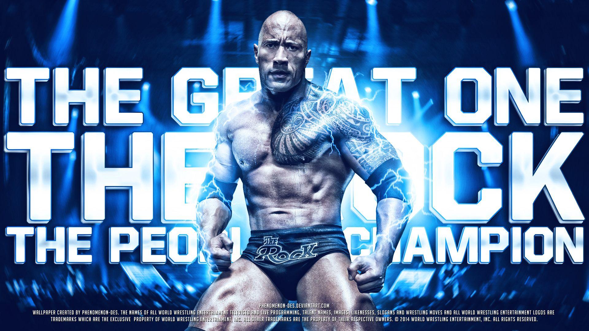 WWE The Rock Wallpaper - The Best HD Wallpaper Source ...