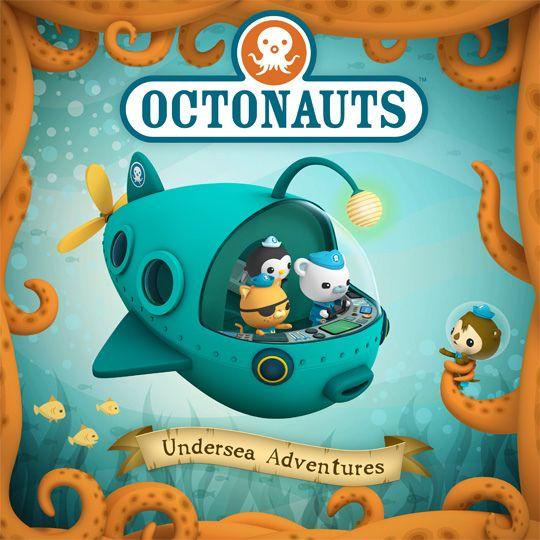 Octonauts Undersea Adventures Octonauts Characters Octonauts Octonauts Party