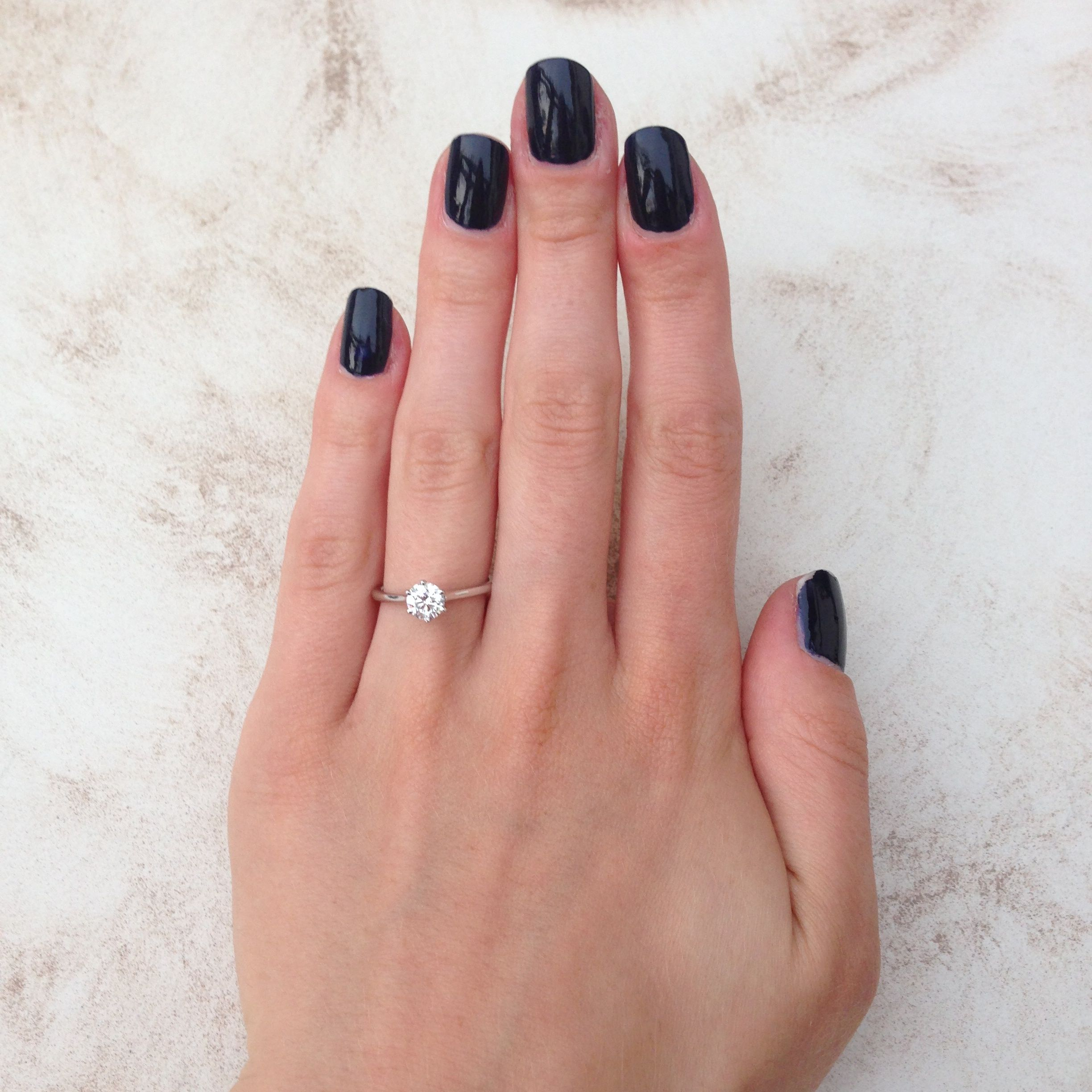 Petite nouveau Picking a classic engagement ring from Blue Nile ...