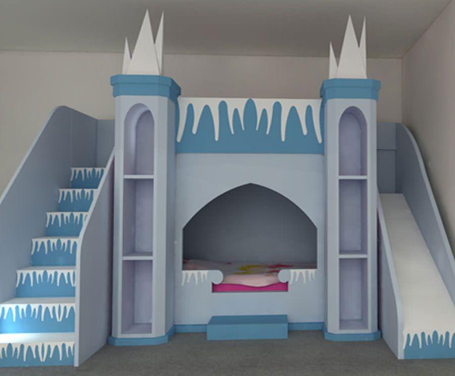 Cameretta Bimba Principesse Disney : Meravigliose camerette da principessa disney per bambine idee