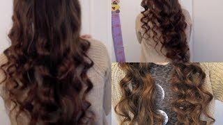 No Heat Curls Youtube Hairstyles Pinterest Frisur Ideen
