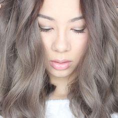 light grey/brown hair color: | hop\'n | Pinterest | Hair coloring ...