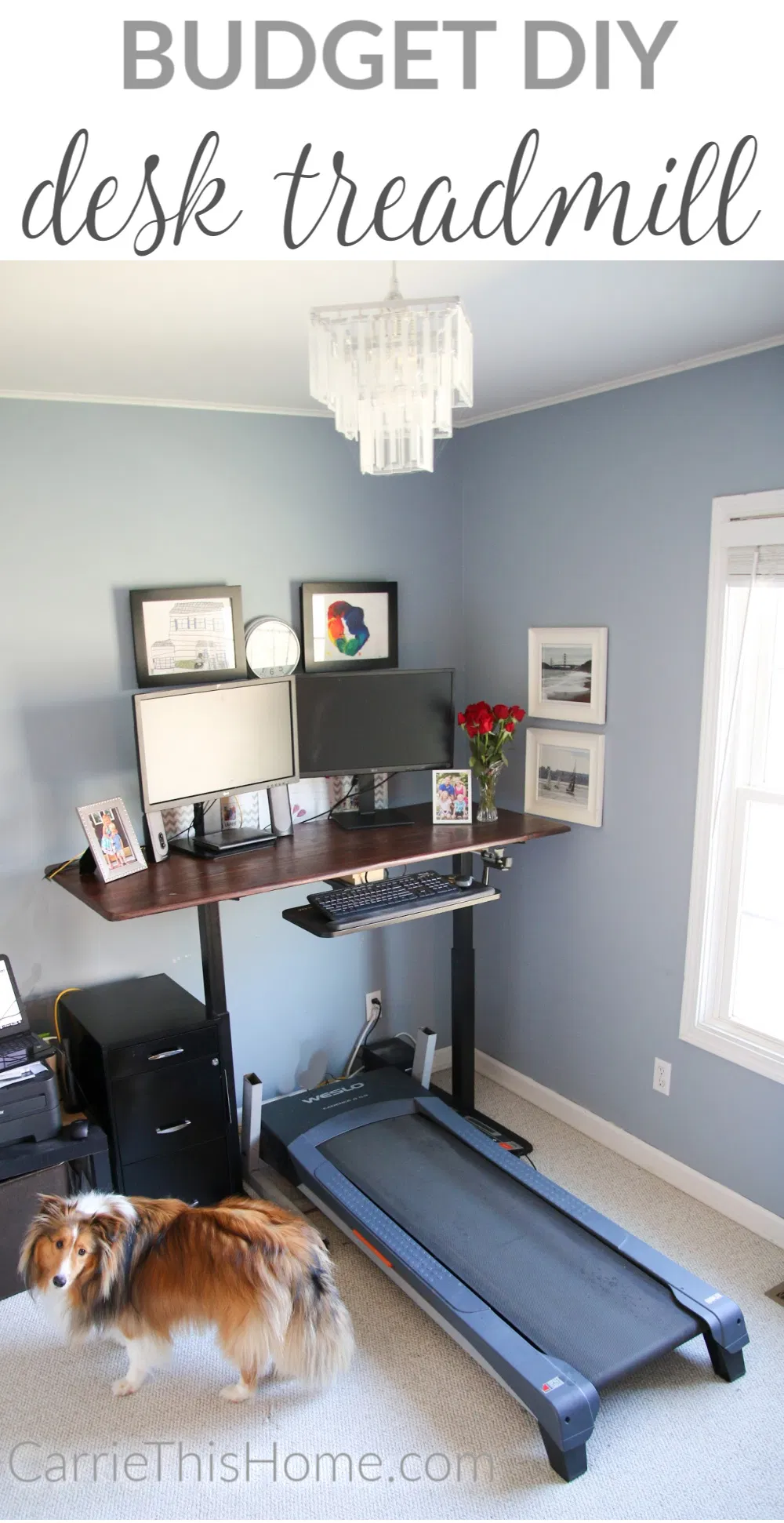 Diy Desk Treadmill Carrie This Home In 2020 Diy Desk Diy