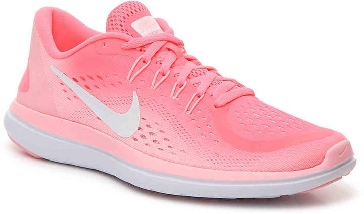 31d21adf413a Nike Women s Flex 2017 RN Lightweight Running Shoe in Hottest Pink ...