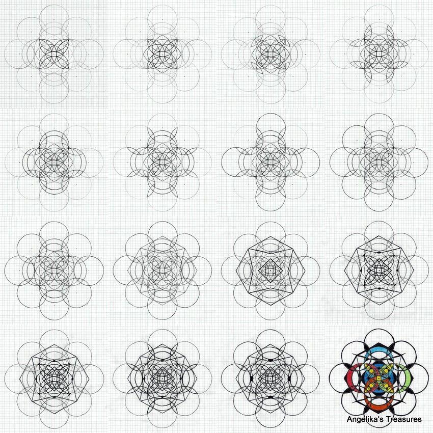 drafting compass meeting graph paper gemaakt ontworpen door