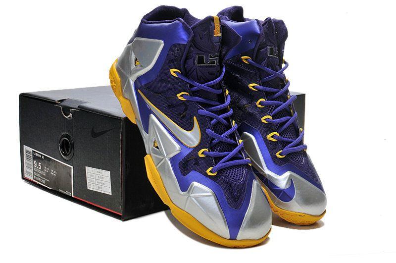 Lebron 11 Lakers Purple Gold | Purple
