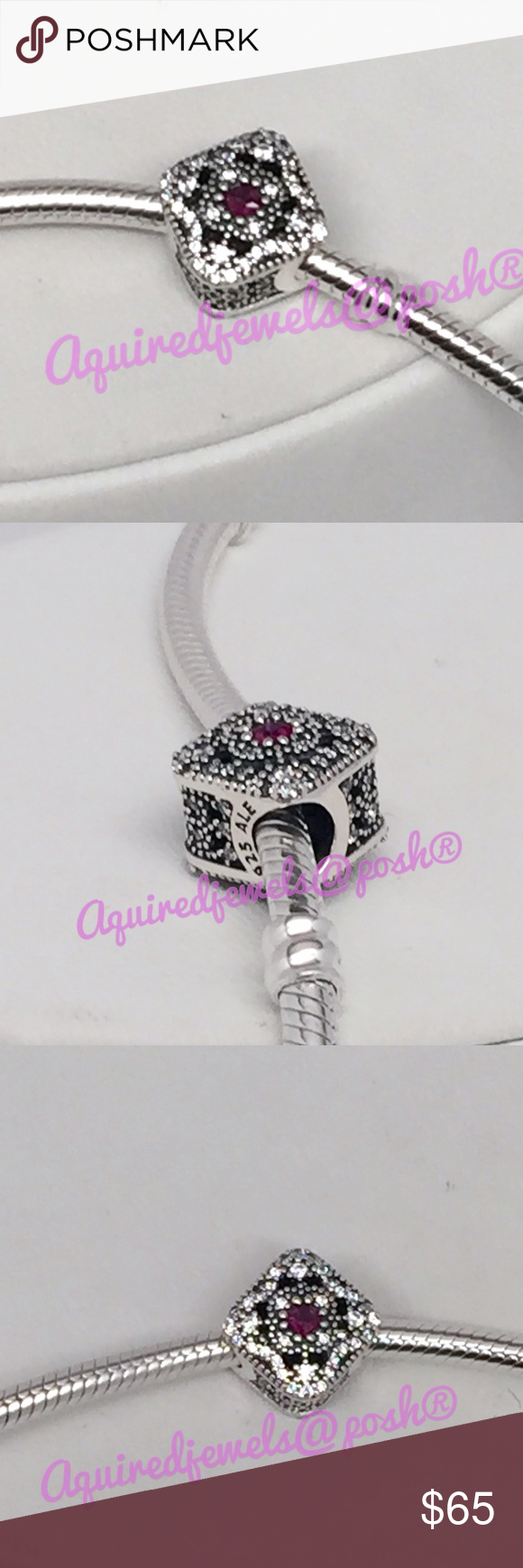 New Pandora Fairytale Treasure Charm This is a Brand New Authentic Pandora Charm.  This Brand New Item Comes in Pandora Pouches or Pandora Paper Folding Box.   All Hallmarked and properly stamped.  If any questions or concerns please drop me a note.   Yes I Bundle too!!  Pandora Hard Box Sold Separately $3.00  Thanks and Happy Shopping.   Oh, if you need anything special just let me know and I will do my best to get you what you want. Pandora Jewelry Bracelets