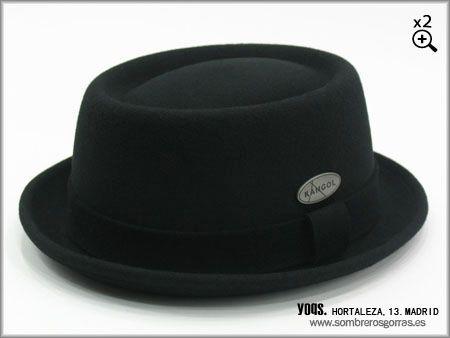 fc66b3e96d39c sombrero kangol lite felt negro