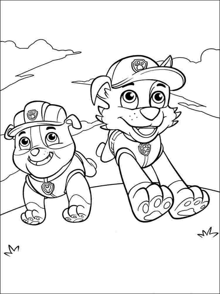25 Creative Picture Of Free Paw Patrol Coloring Pages Paw
