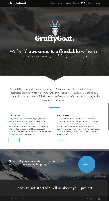 GruffyGoat Affordable websites, Affordable web design