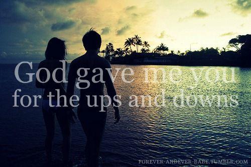 God Gave Me You<3