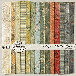 Thriftique - The Back Room Paper Pack