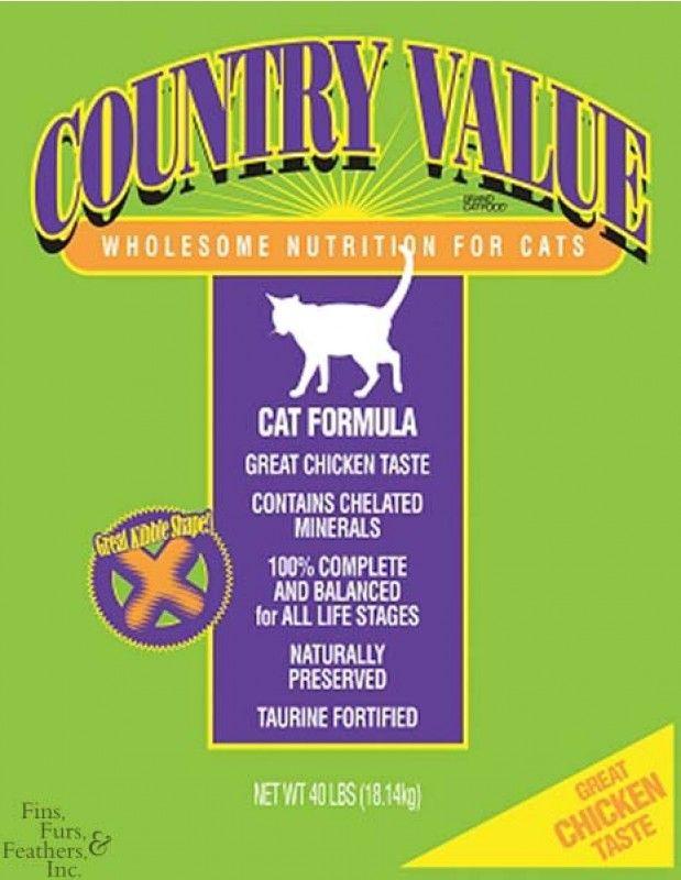 Diamond Pet Foods Country Value Adult Cat Food 40lb Pets Cat Food Petstore Com Food Animals Best Cat Food Cat Food Storage