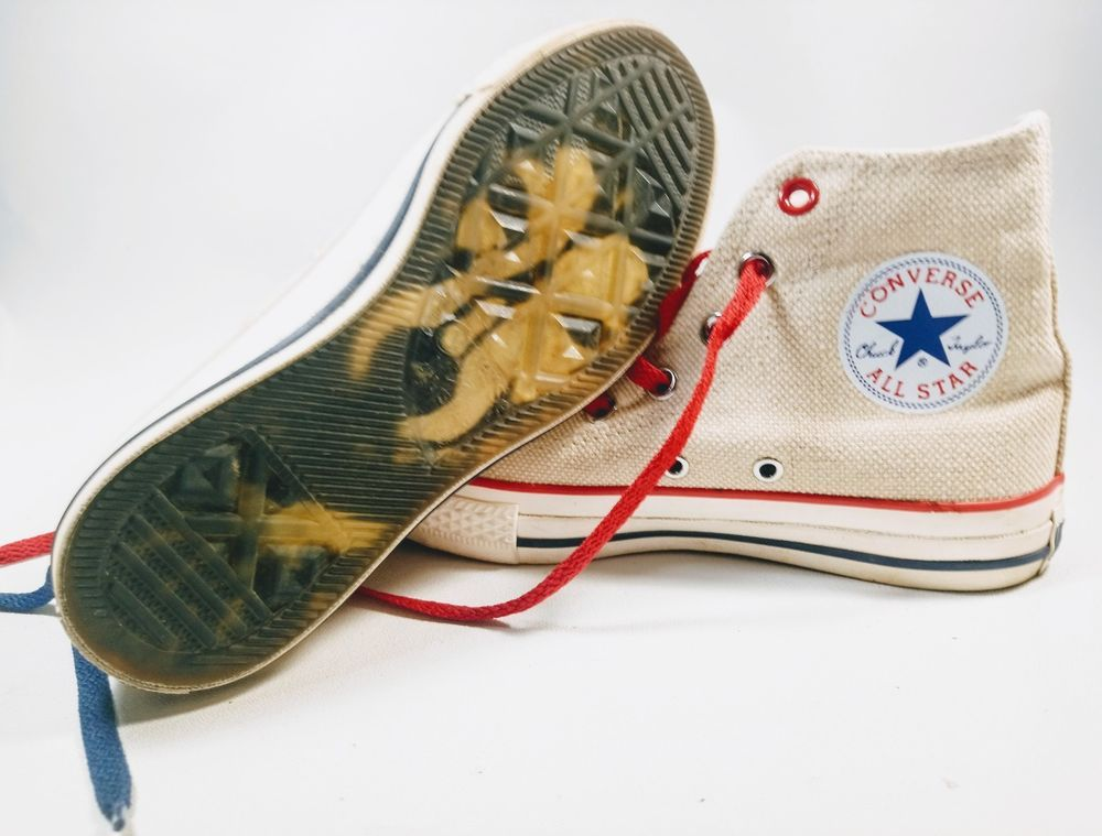 362303cf30 CONVERSE RED HEMP Signature WOLF Soles Chuck Taylors size US mens 4.5  Womens 6.5 | Clothing, Shoes & Accessories, Unisex Clothing, Shoes & Accs,  Unisex ...
