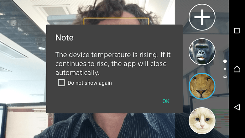 Watch the Xperia Z3+ overheat after Sony's anti