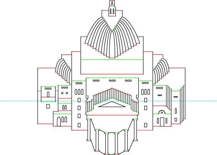 image detail for h p pattern origamic architecture