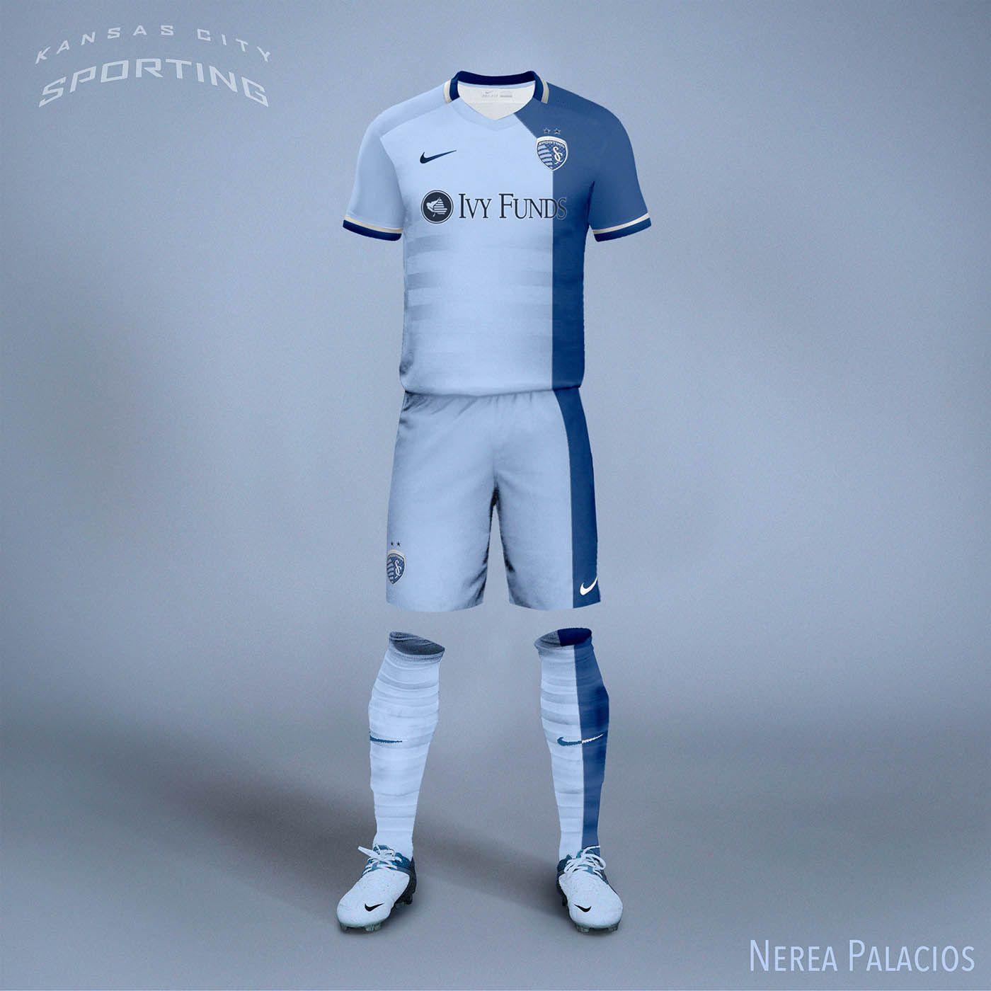Nike MLS Concept Kits By Nerea Palacios