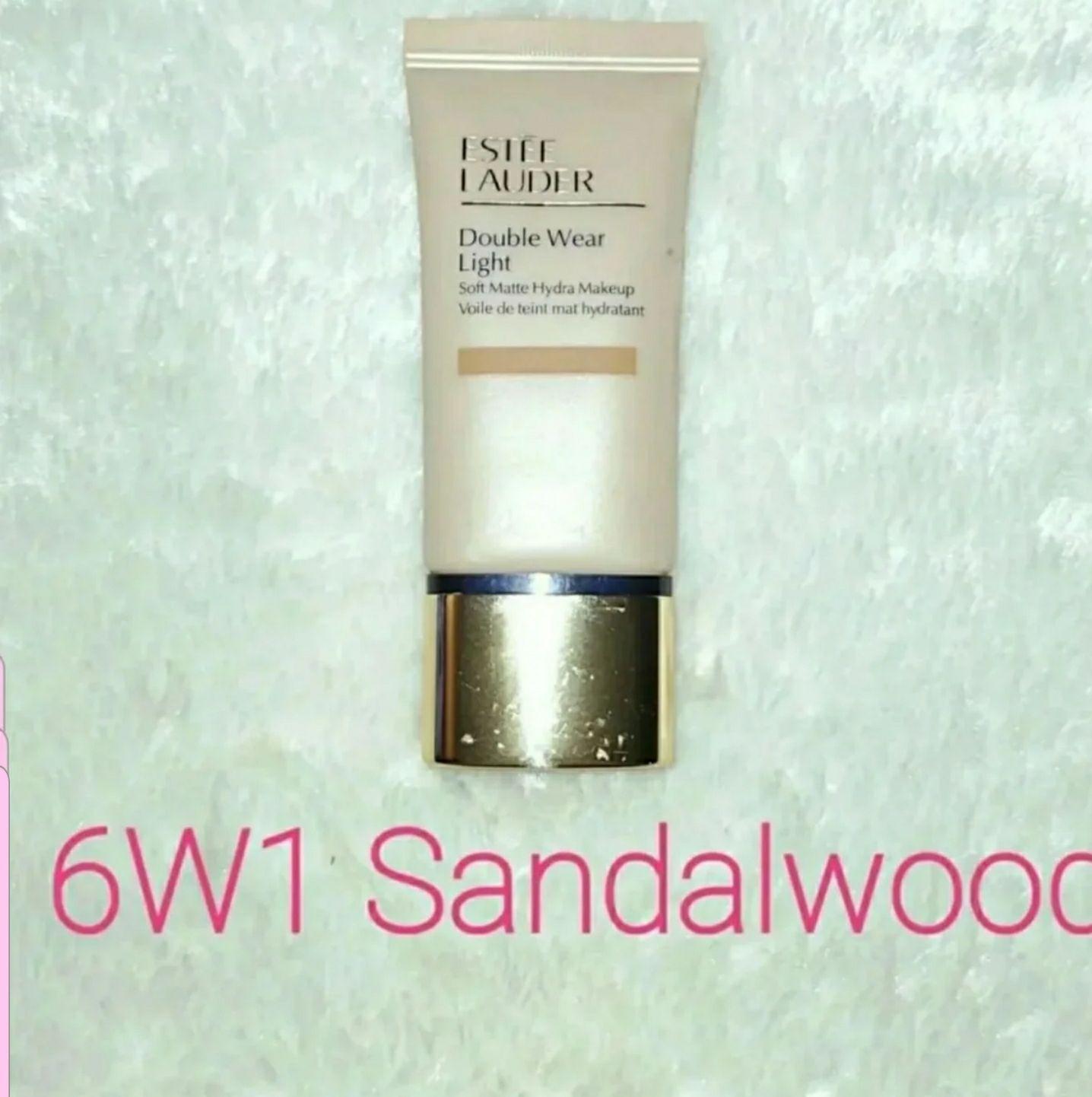 Estee Lauder Double Wear Light Soft Matte Hydra Makeup 6W1