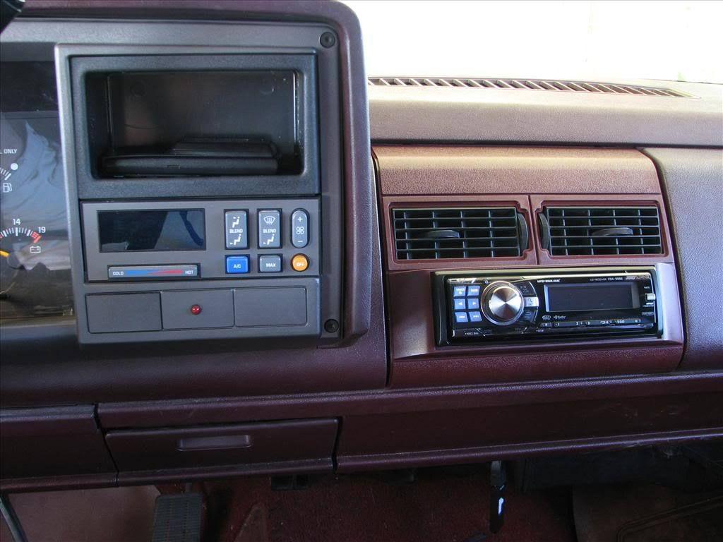1992 Gmc Sierra Stereo Installation Chevy Silverado 1500 1994 Chevy Silverado Chevy Silverado