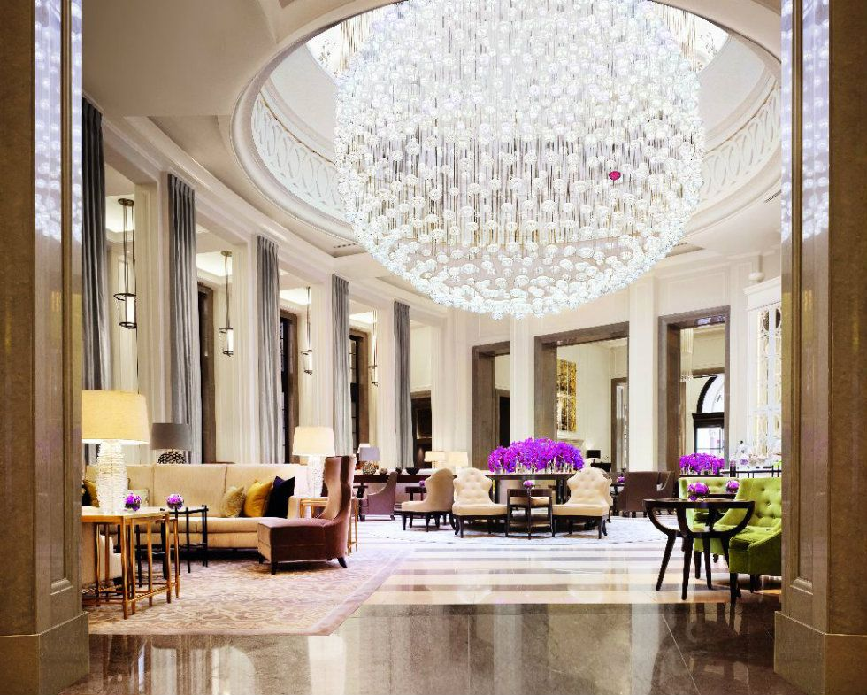 World S Best Lighting Design Ideas Arrive At Milan Modern Hotels The Lobby