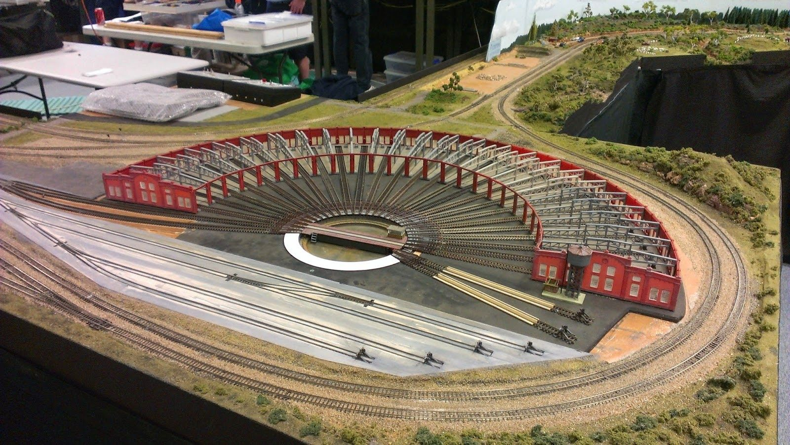 Model trains for beginners ho scale turntable model for Car turntable plans