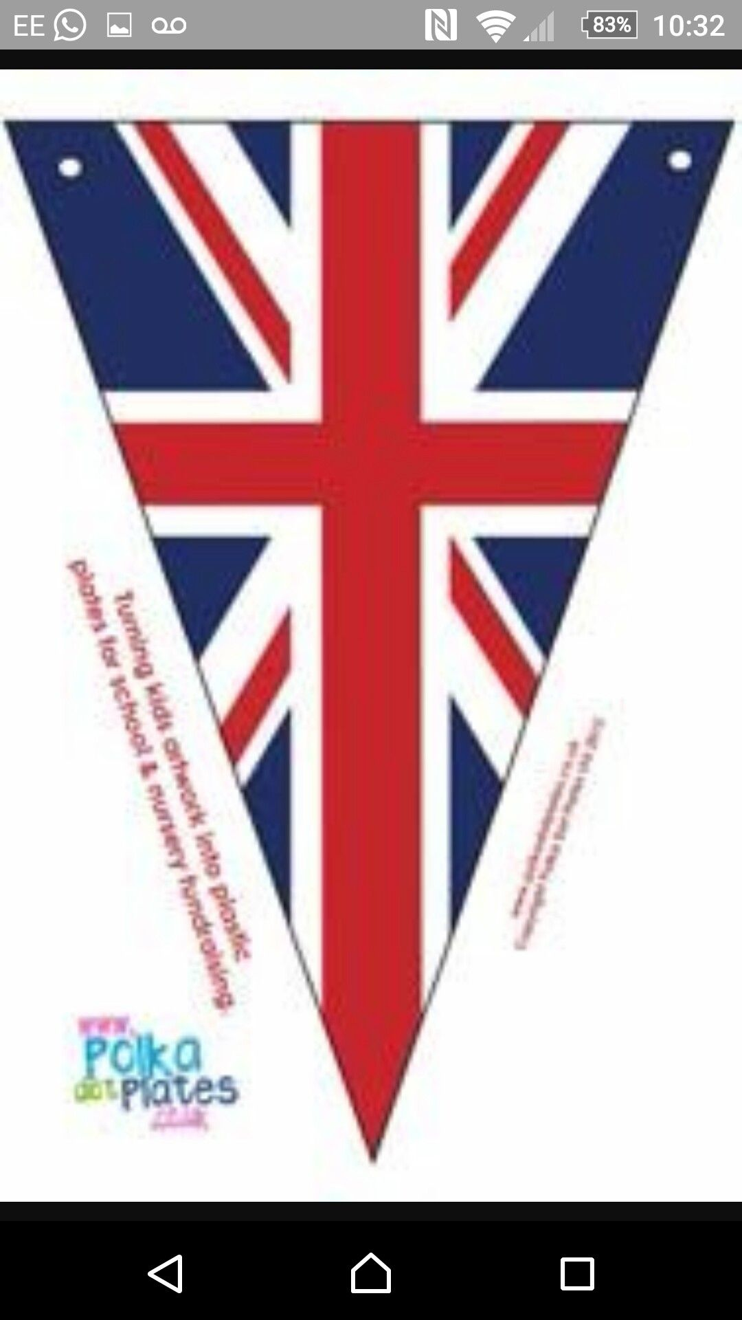 Jubilee bunting | Party Ideas | Pinterest | Streamers and Birthdays
