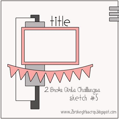 2 Broke Girls Challenges: Cupcakes By Design {Sketch #5}