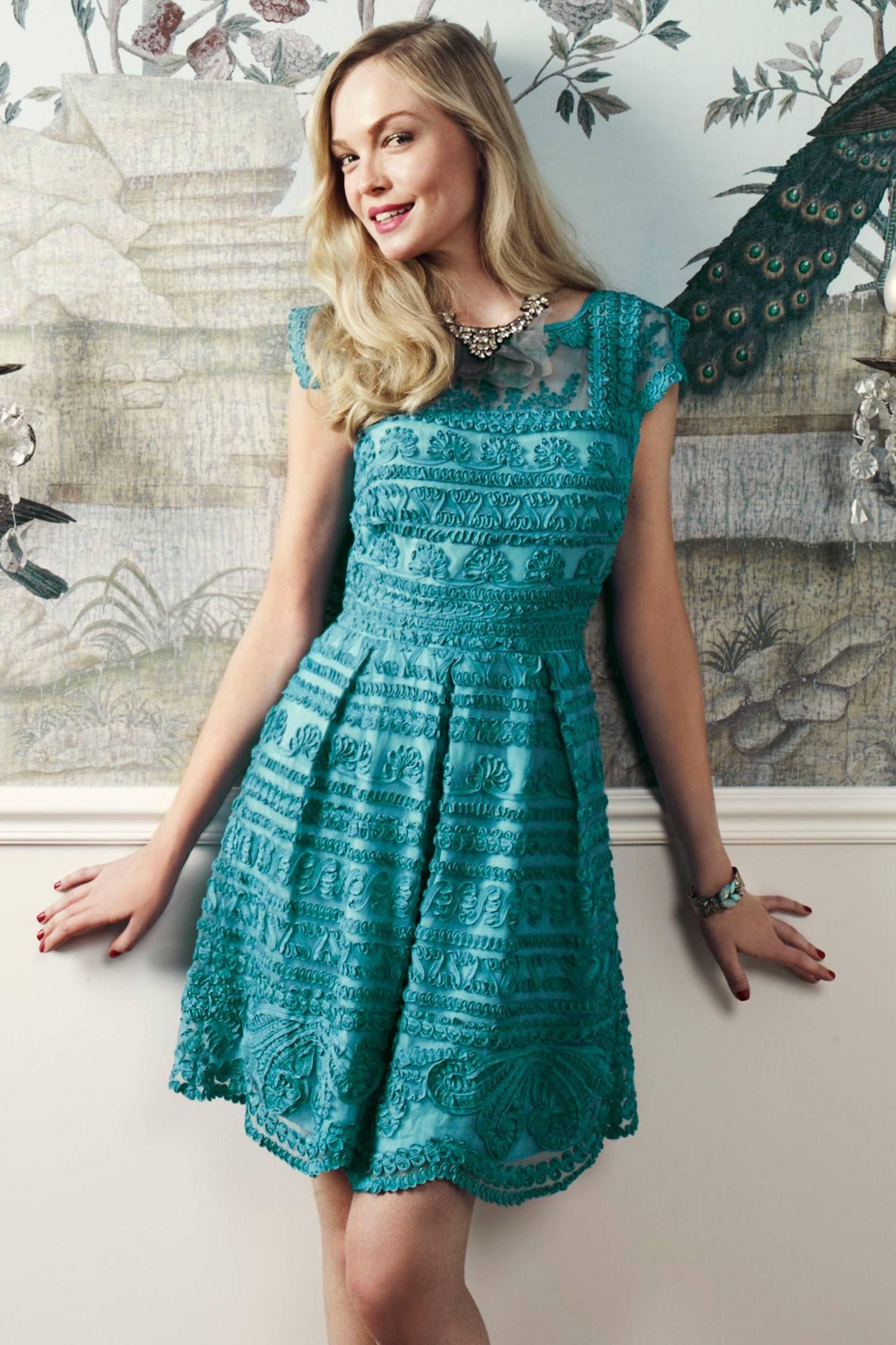 Cute Bridesmaid Dress! New Light Dress - anthropologie.com | Wedding ...