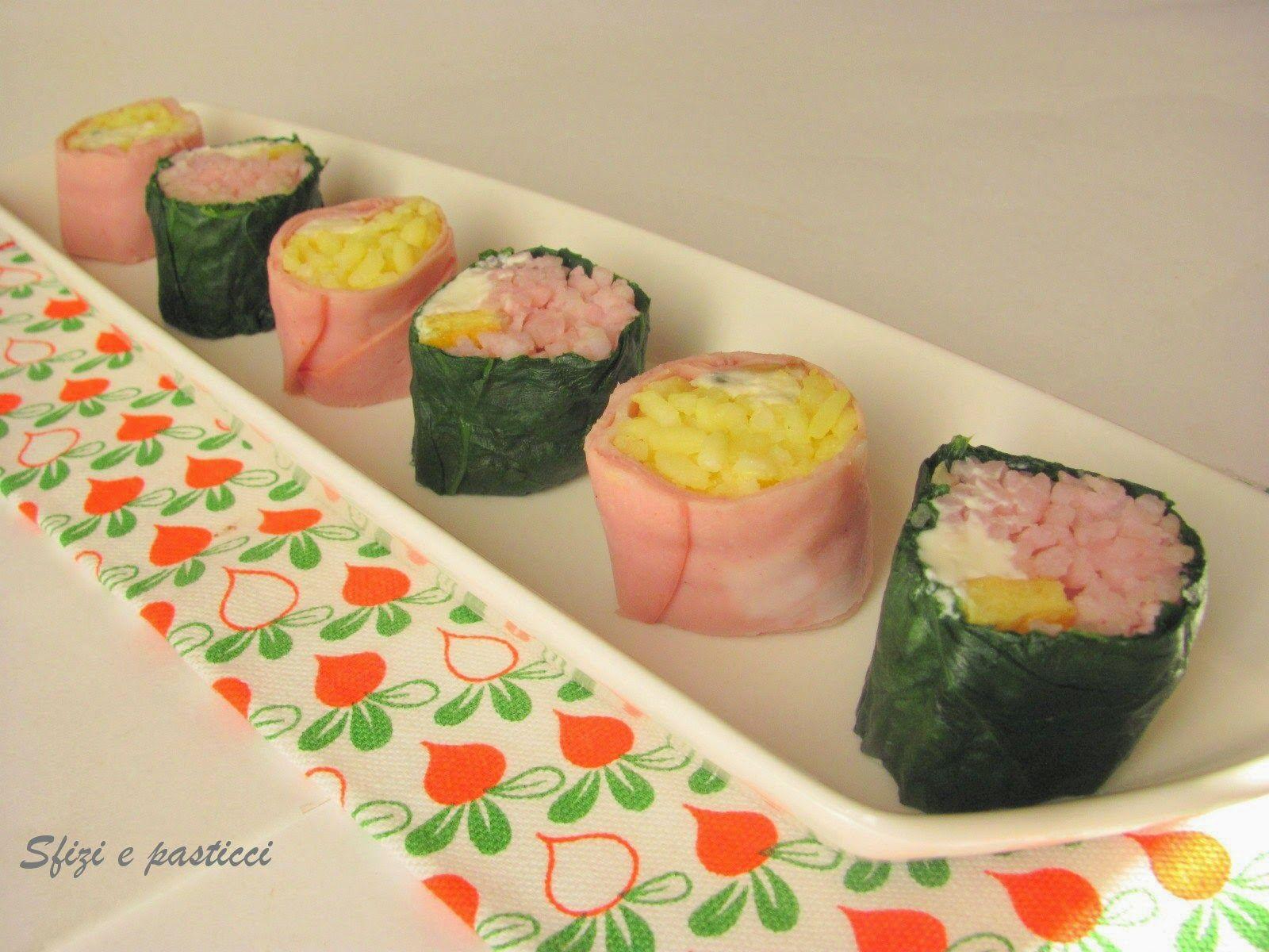 Sfizi e pasticci: Sushi si ma... italiano!