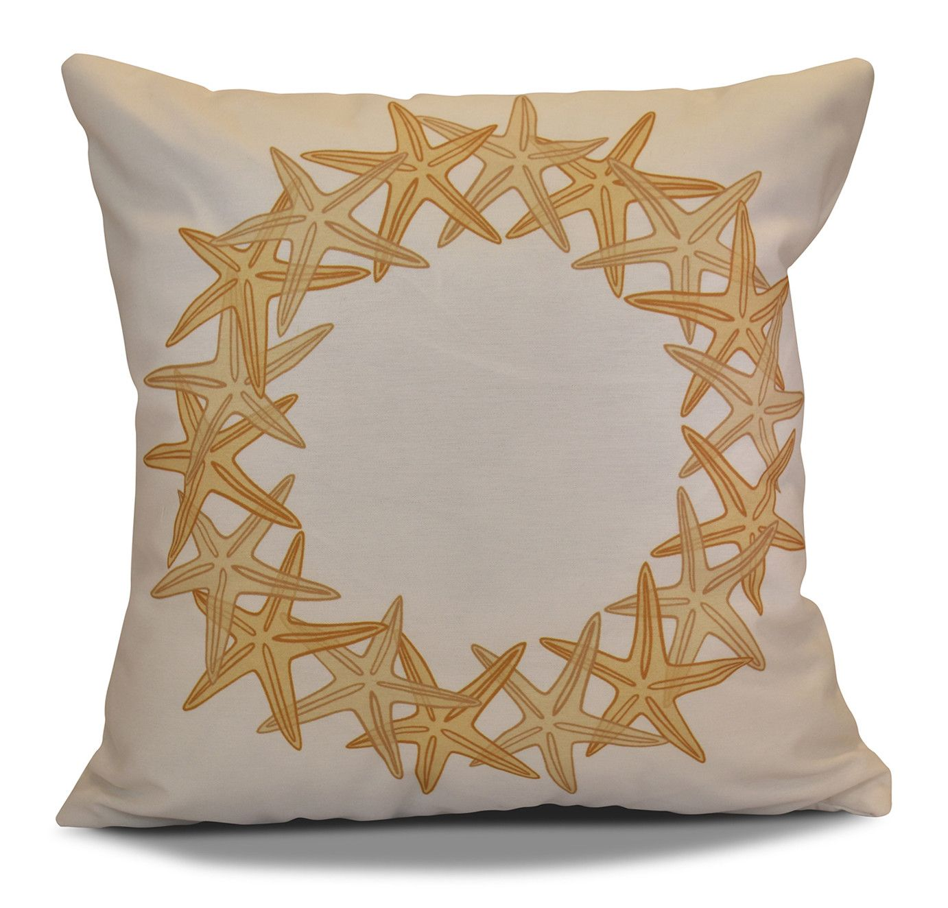 Decorative Holiday Geometric Print Throw Pillow