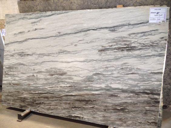 Sequoia Granite Slab Selected For The Greige Kitchen Not The Greige Kitchen Granite Countertops Kitchen Granite Slab