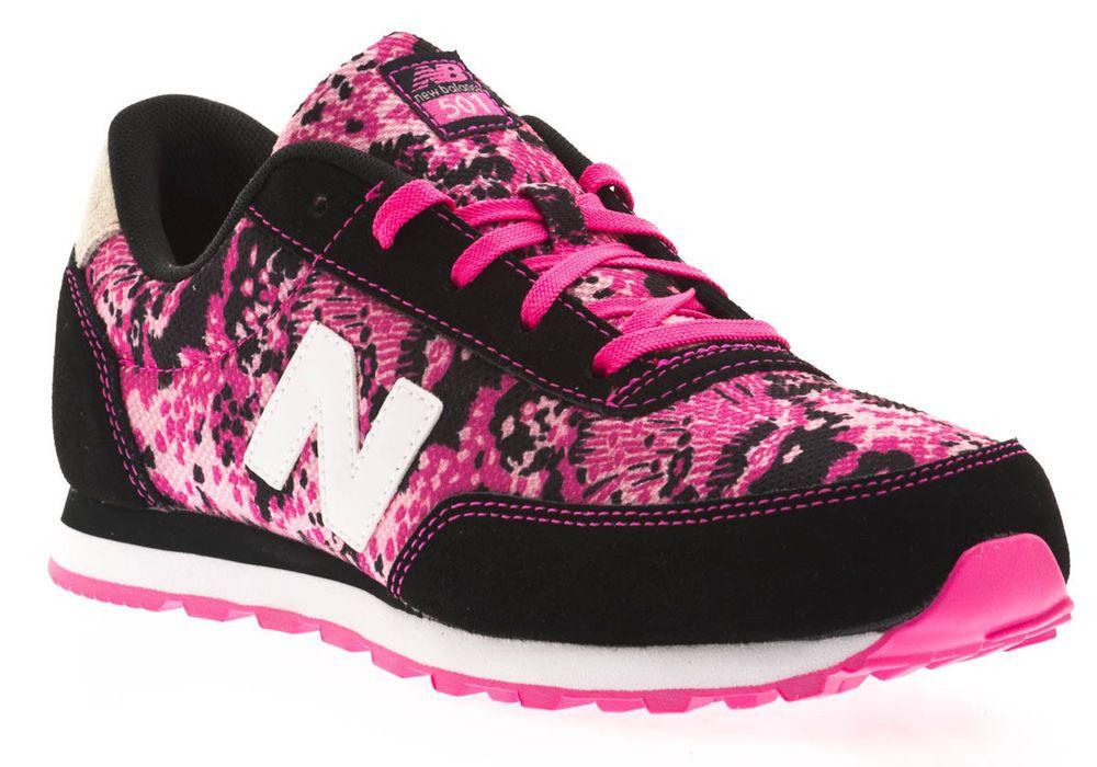 315f1c25d52 NEW BALANCE 501 Pink Black LEOPARD Womens 7.5 (6Y) Limited NIB