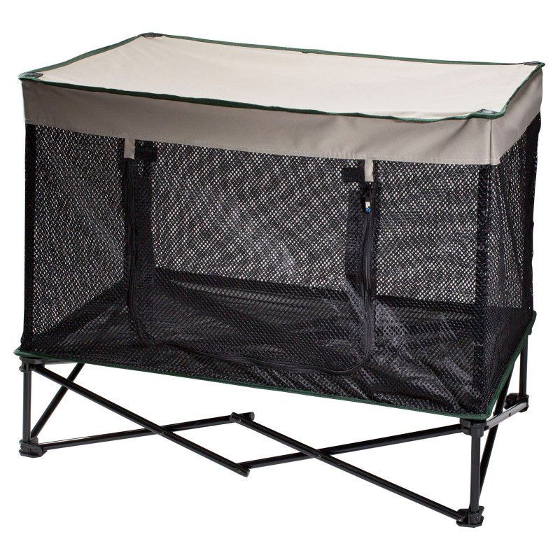 Quik Shade Instant Pet Kennel with Mesh Bed Pet kennels