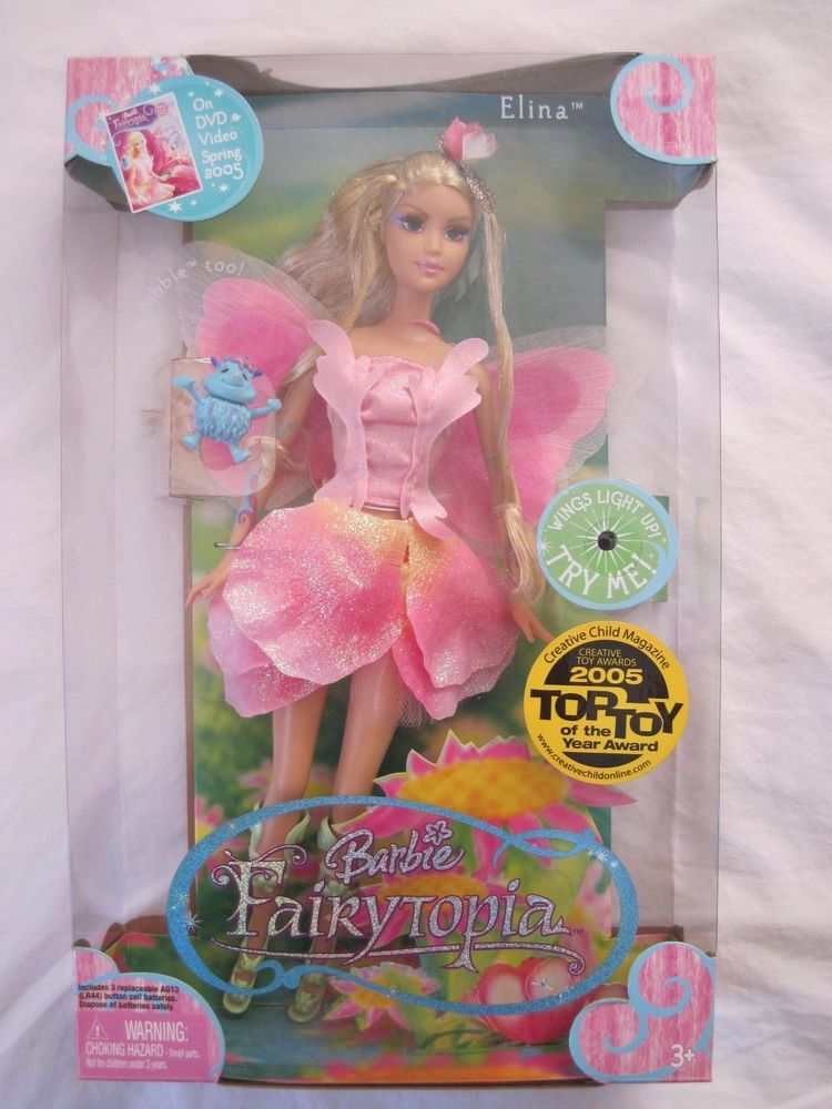 Barbie Fairytopia Elina Doll New In The Box Mattel Dolls