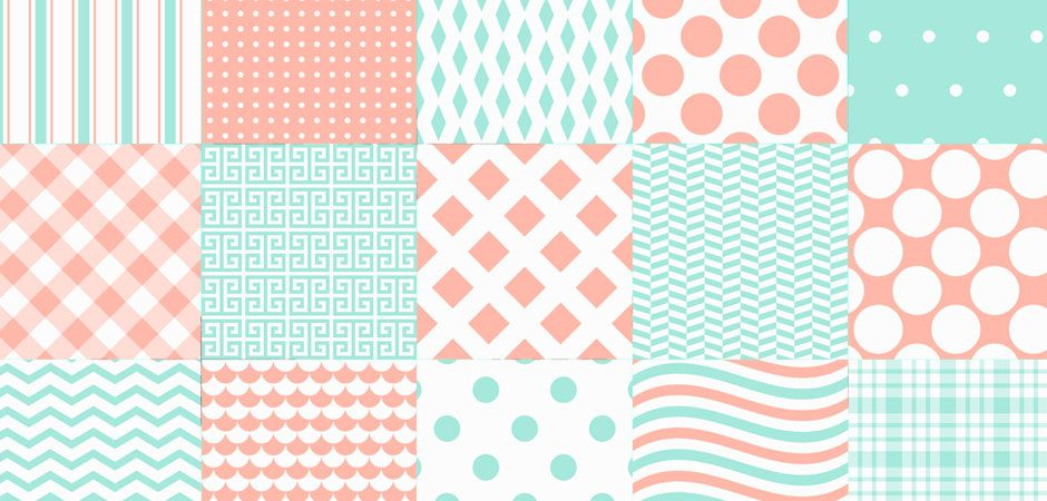 25 motifs pastels exclusifs pour vos créations