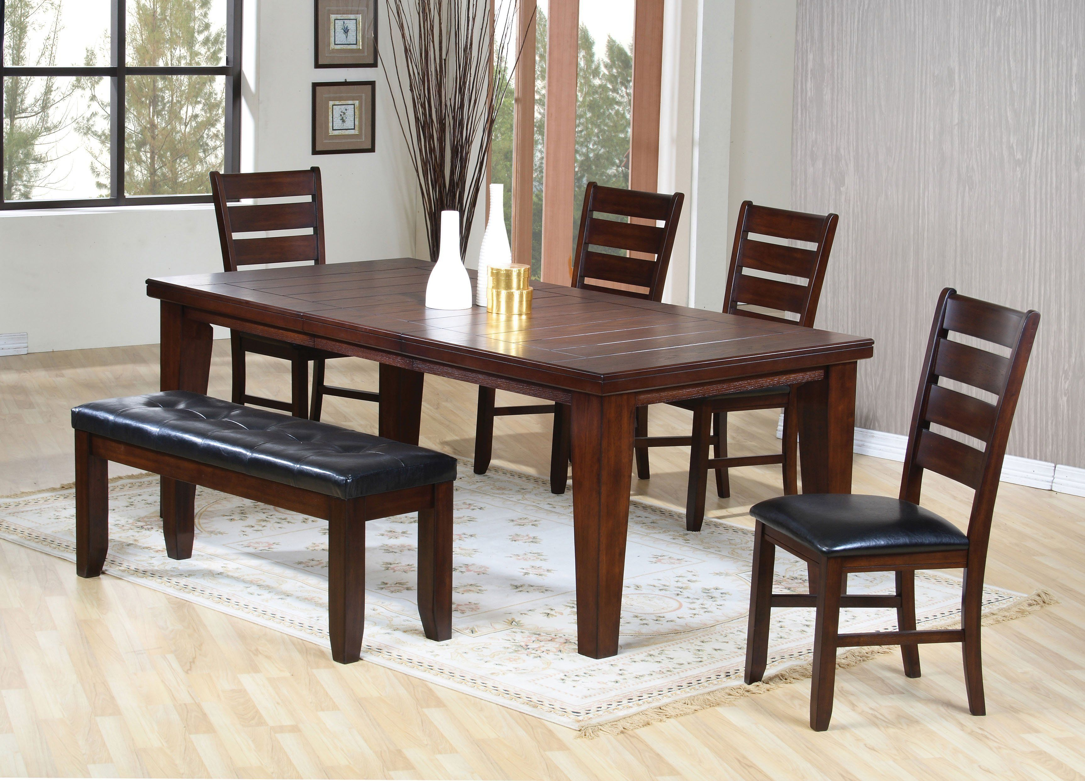 Urbana Dining Table Cherry Dining Table Chairs Dining Room