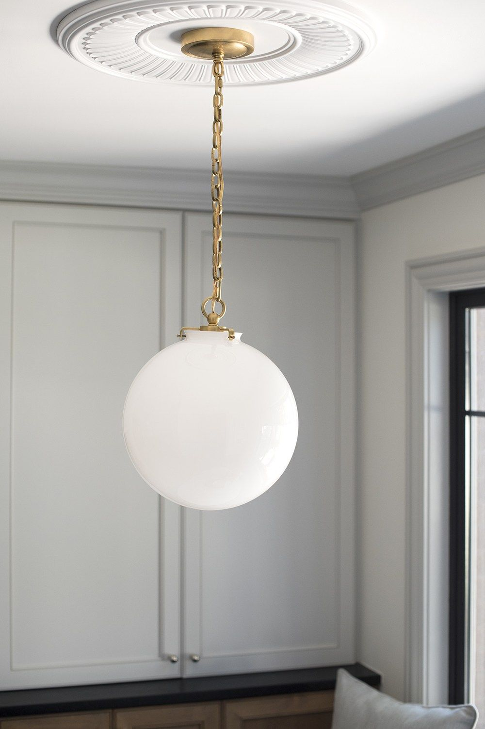 Pin By Staver Kaufman On Hoxton Brass Pendant Lights Kitchen Ceiling Medallions Brass Pendant Light