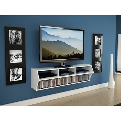 prepac altus wall mounted entertainment center tv stands councils rh pinterest com hanging tv on the wall how high hanging a tv on the wall without studs