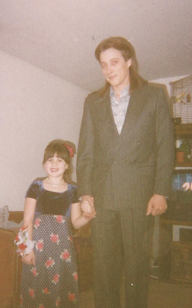Garry was his niece, Amber's date for the Father-Daughter dance when she was 5