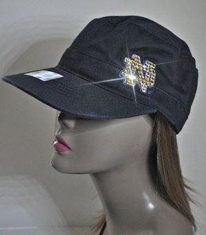 9910934ff2ace6 Notre Dame bling hat...GOOO Lady Fighting Irish!! | Hats! | Hats ...