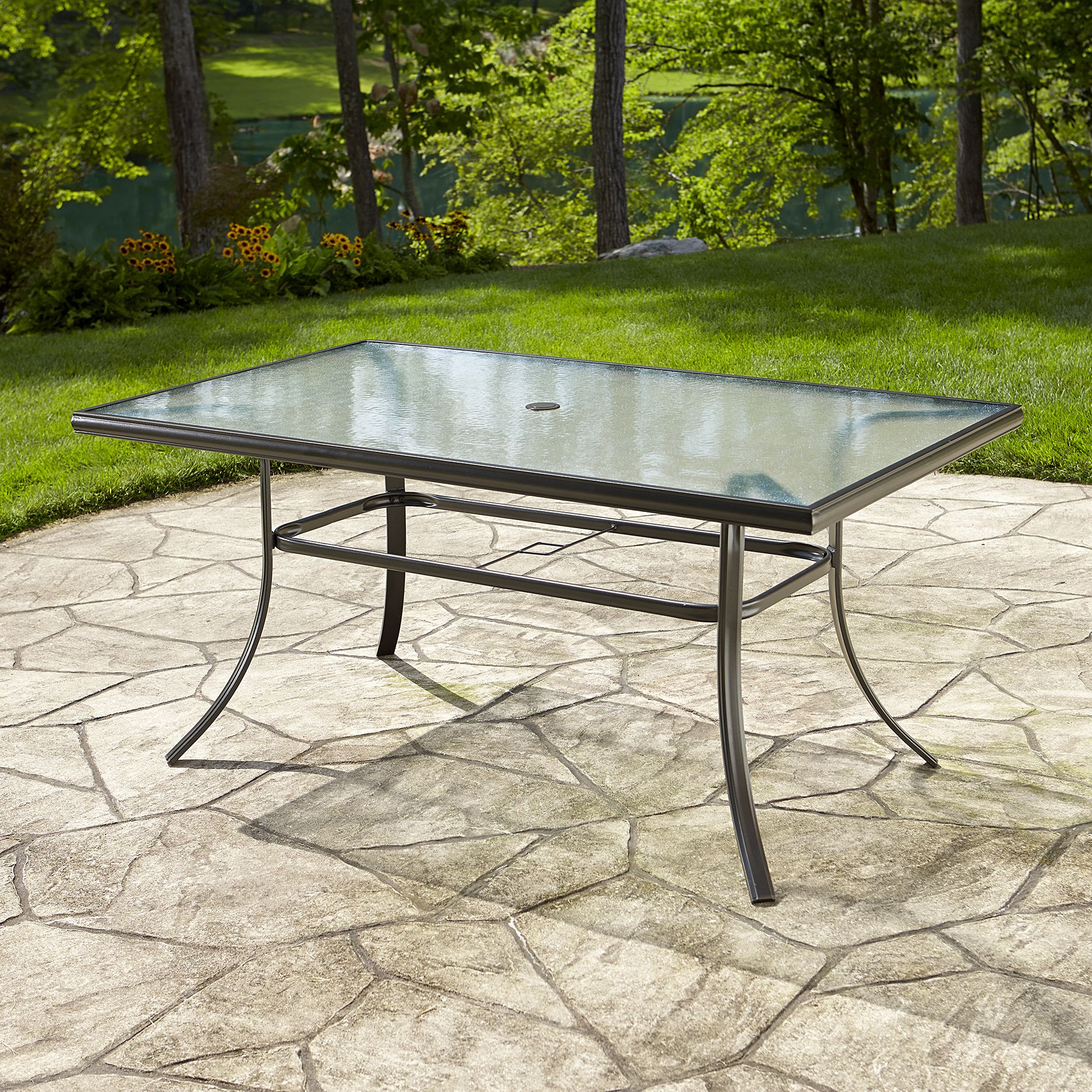 Essential Garden Fulton Dining Table Kmart Bought 2 In 2017