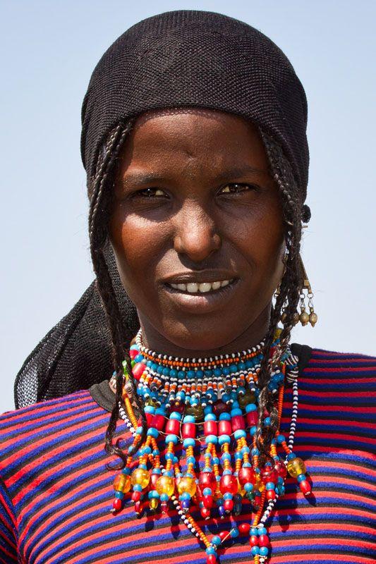 Africa | Young Afar woman.  Danakil, Ethiopia | © Johan Gerrits