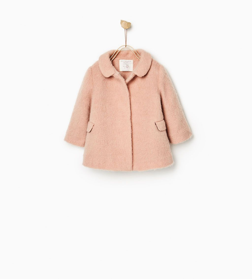 Image 1 of from Zara | Baby outerwear, Baby winter dress ...